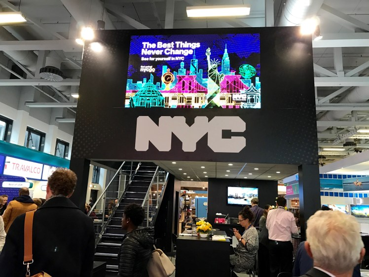 New York City and Company booth