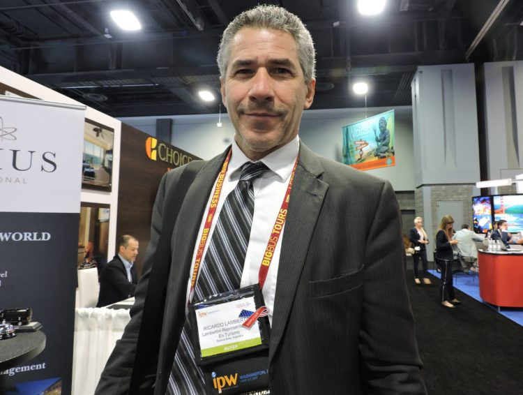 Ricardo Lambertini, director Lambertini Representaciones en Turisom, Buenos Aires.