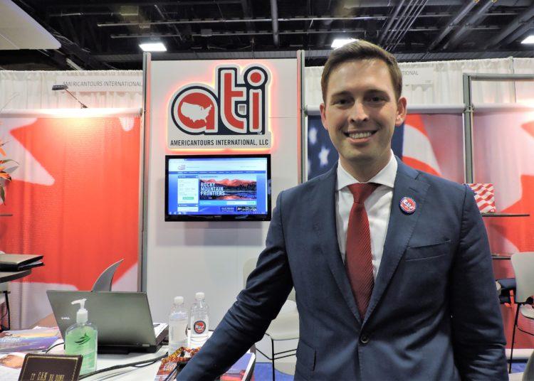 Nicholas Hentschel, executive vice president, AmericanTours International (ATI).