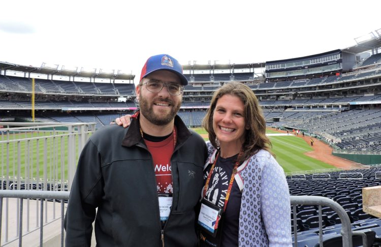 From Turnstile Tours NYC, here are Andrew Gustafson (left), vice president; and Cindy VandenBosch, founder and president.