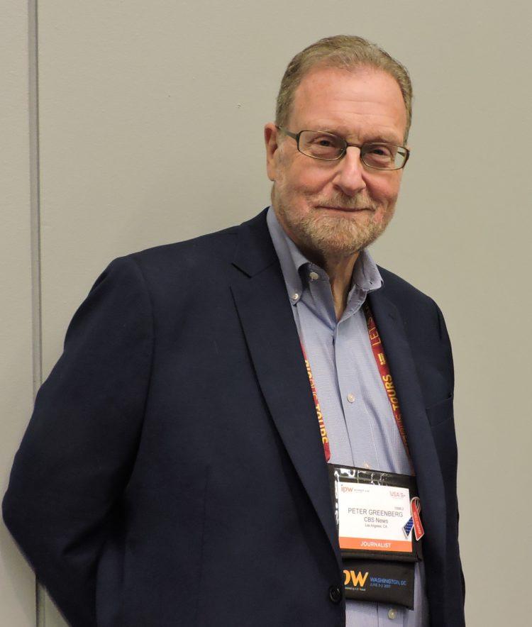 CBS News Travel Editor Peter Greenberg.