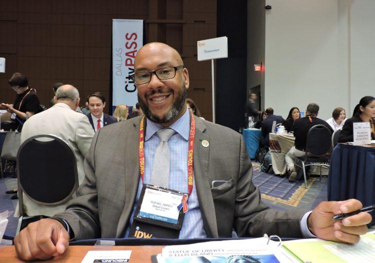 Rafael Abreu, director of sales and marketing, Statue Cruises.