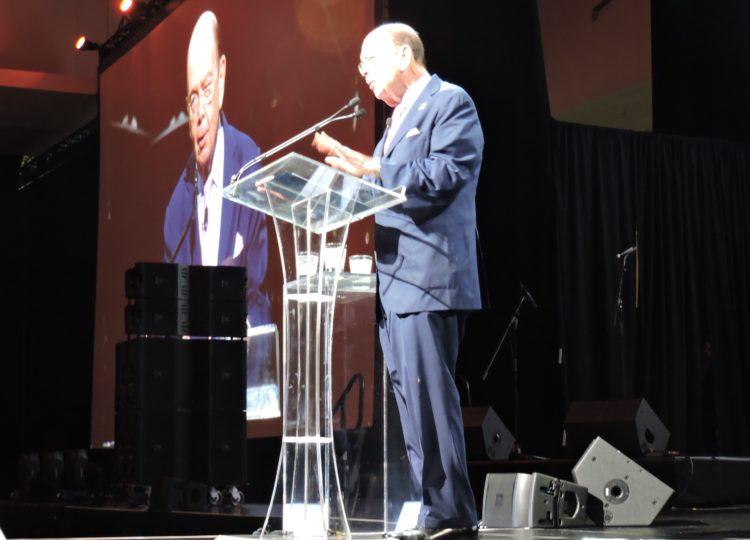 U.S. Secretary of Commerce Wilbur Ross address IPW opening luncheon.