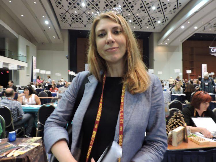 Janna Safonova, reporter for Moscow-based TTG Luxury/TGG Russia.
