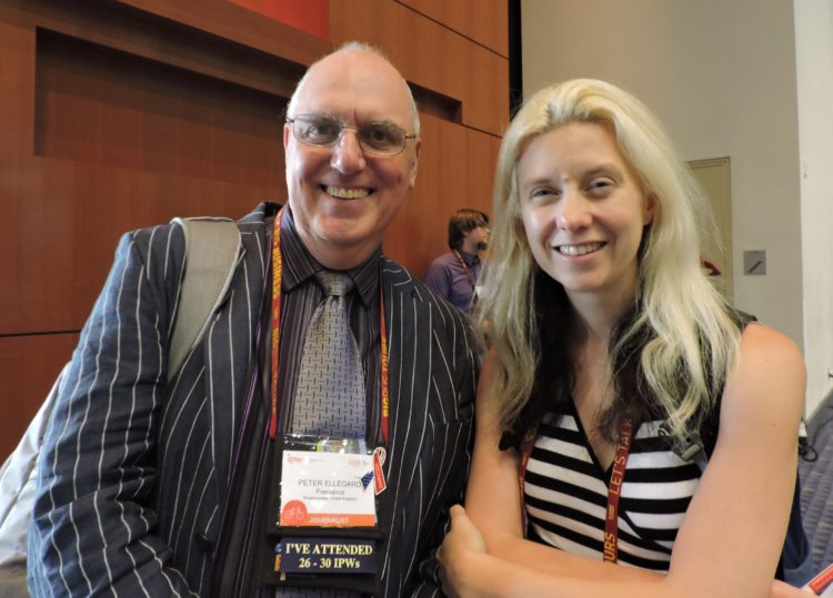 Peter Ellegard, UK-based freelance travel journalist; and Phoebe Smith, editor, Wanderlust travel magazine.