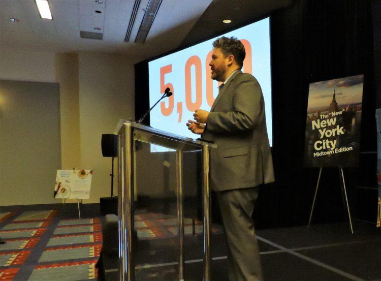 Jason Hackett, head of marketing, Gulliver's Gate, discusses the new Manhattan attraction.