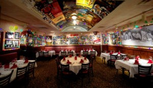Poster room at Bucca di Beppo, Times Square