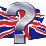 UK Flag e Question Mark