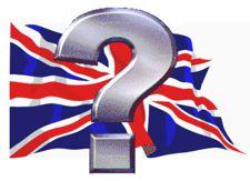 UK Flag e Question Mark
