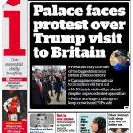 Trump UK Headline
