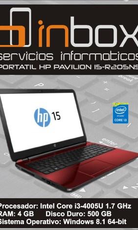 HP PAVILION 15-R205NS