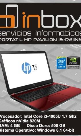 HP PAVILION 15-R211NS