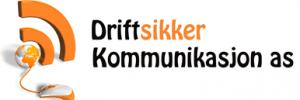 Logo-Driftsikker kommunikasjon as