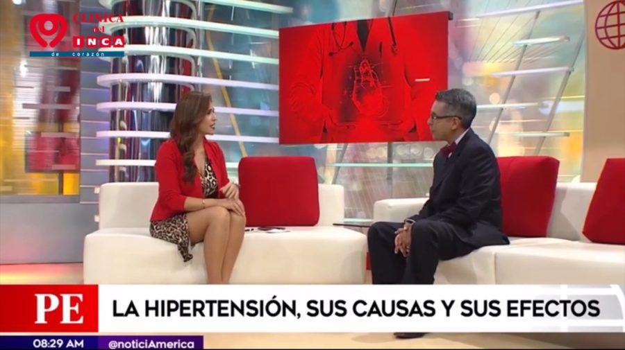 VERÓNICA LINARES ENTREVISTA A CARDIÓLOGO DE CLÍNICA DEL INCA Y UNA REVELADORA ENTREVISTA SOBRE LOS PELIGROS DE LA HIPERTENSIÓN