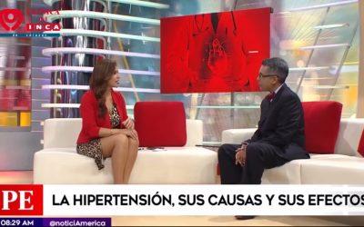 Dr. José Rosales en entrevista y Dr. Leonardo Saavedra, en Sanamente de América Noticias
