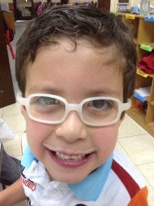 One of my oh so handsome students! (Got to love his milk mustache!)