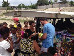 Distribution response to affected communities