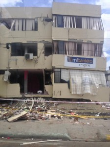 Ecuador Earthquake Damage