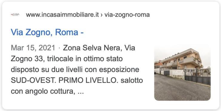 annuncio google agenzia immobiliare roma prati