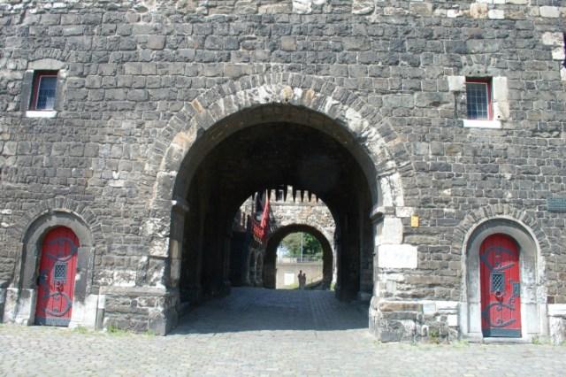 Ponttor poort Aken