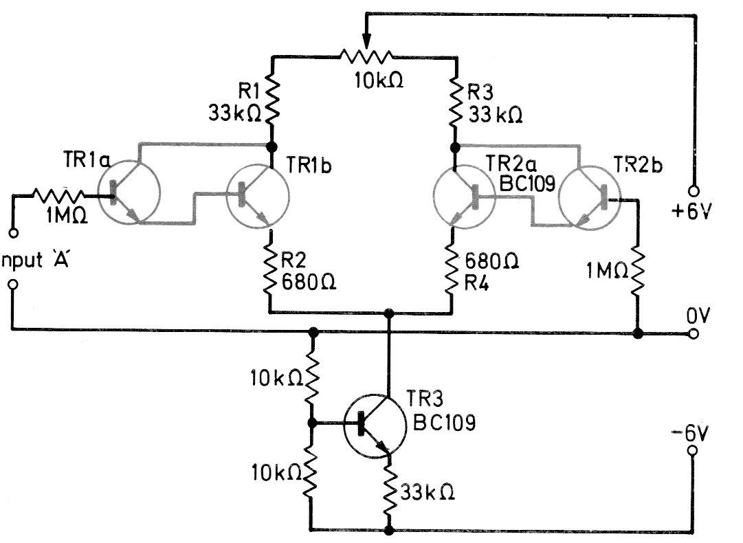Amplificador Diferencial Darlington Cir S