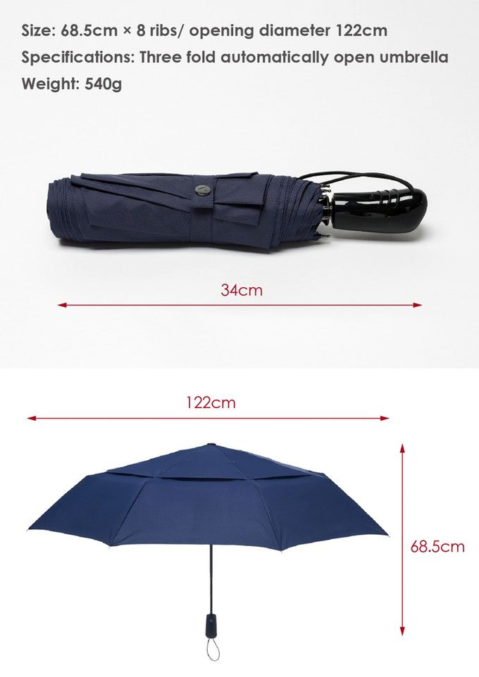 A.Brolly Stonehenge Specifications