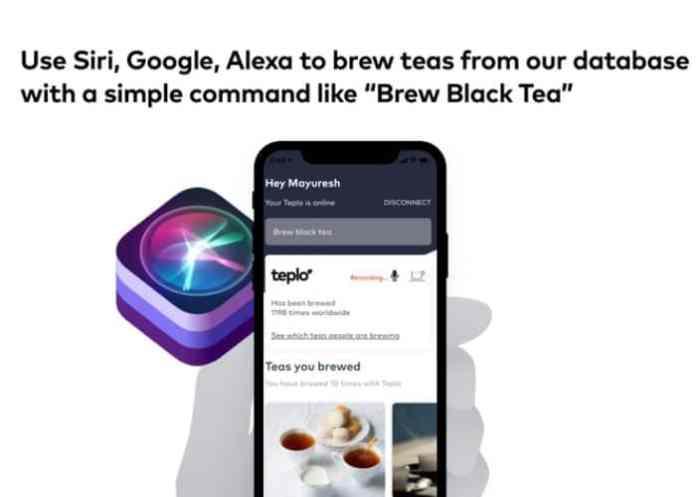 Teplo's mobile app