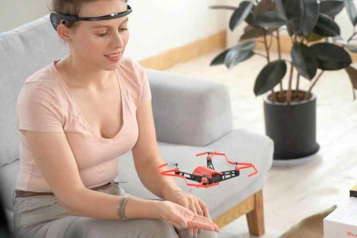 UDrone: Control a drone with the power of your mind