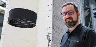 Samir Bouabdallah with his new drone