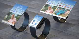IBM smartwatch transforms into smartphone and tabletIBM smartwatch transforms into smartphone and tablet