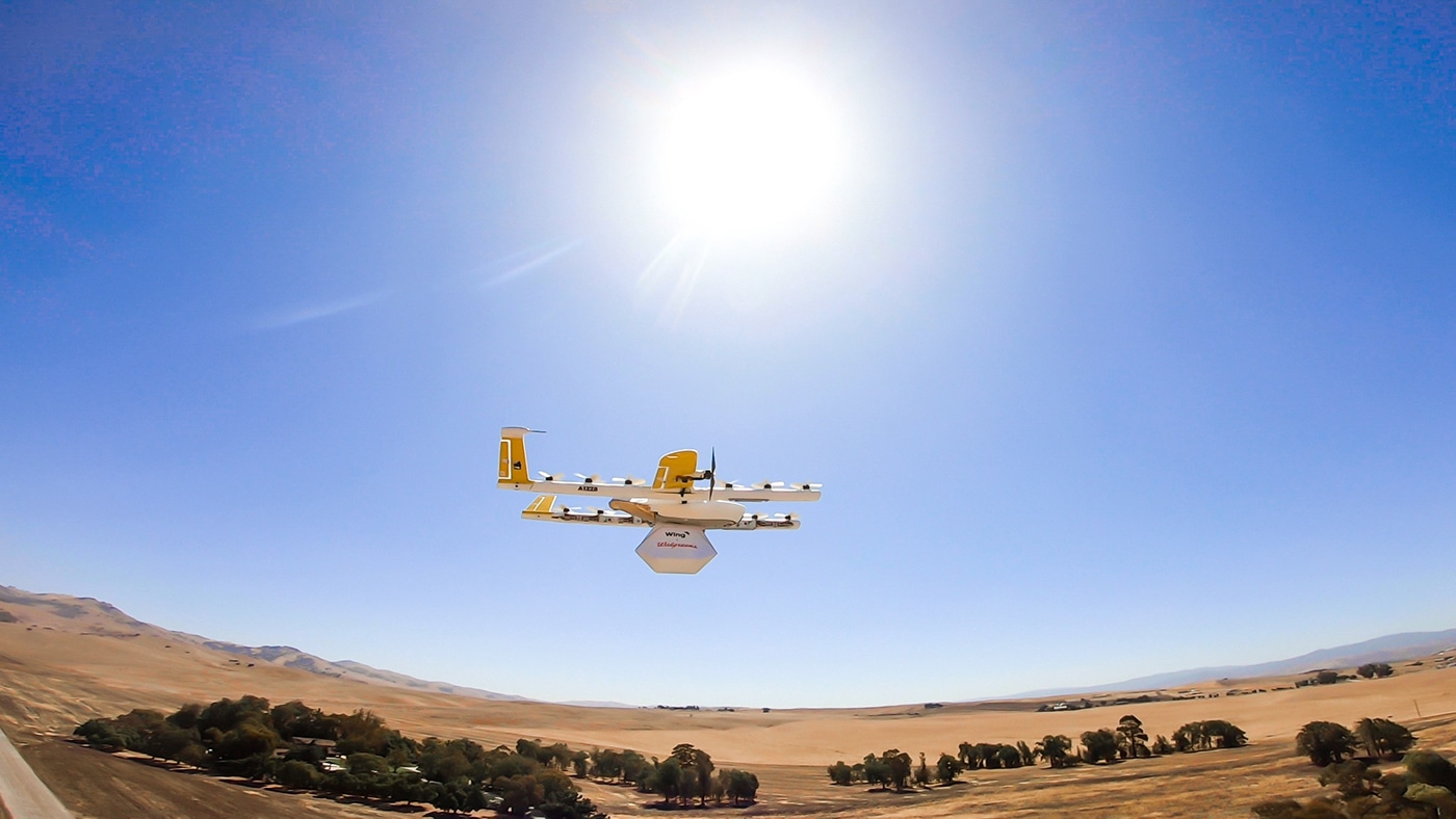 Wing delivery drones will soon ship FedEx and Walgreens packages
