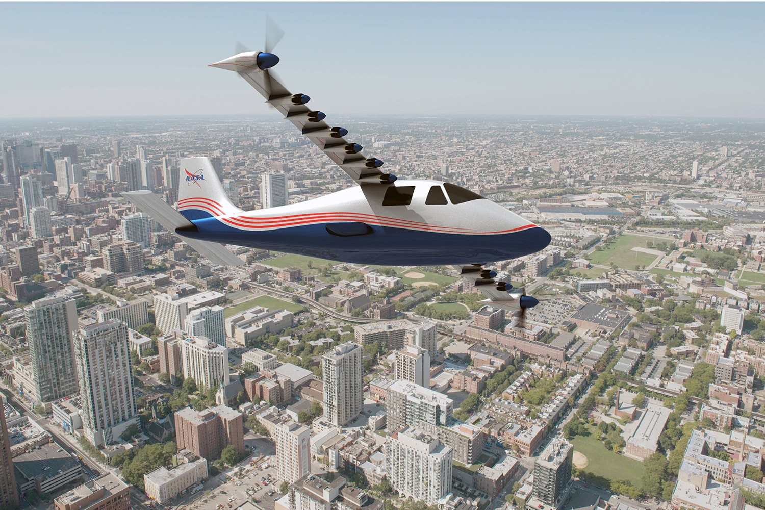NASA unveils X-57 Maxwell, its 100% electric airplane