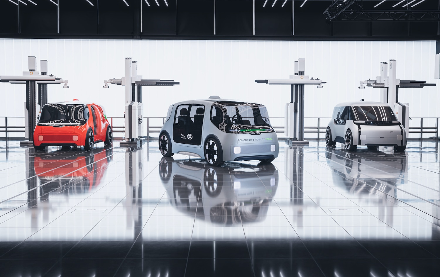 Jaguar Land Rover reveals Project Vector for the smart cities of the future