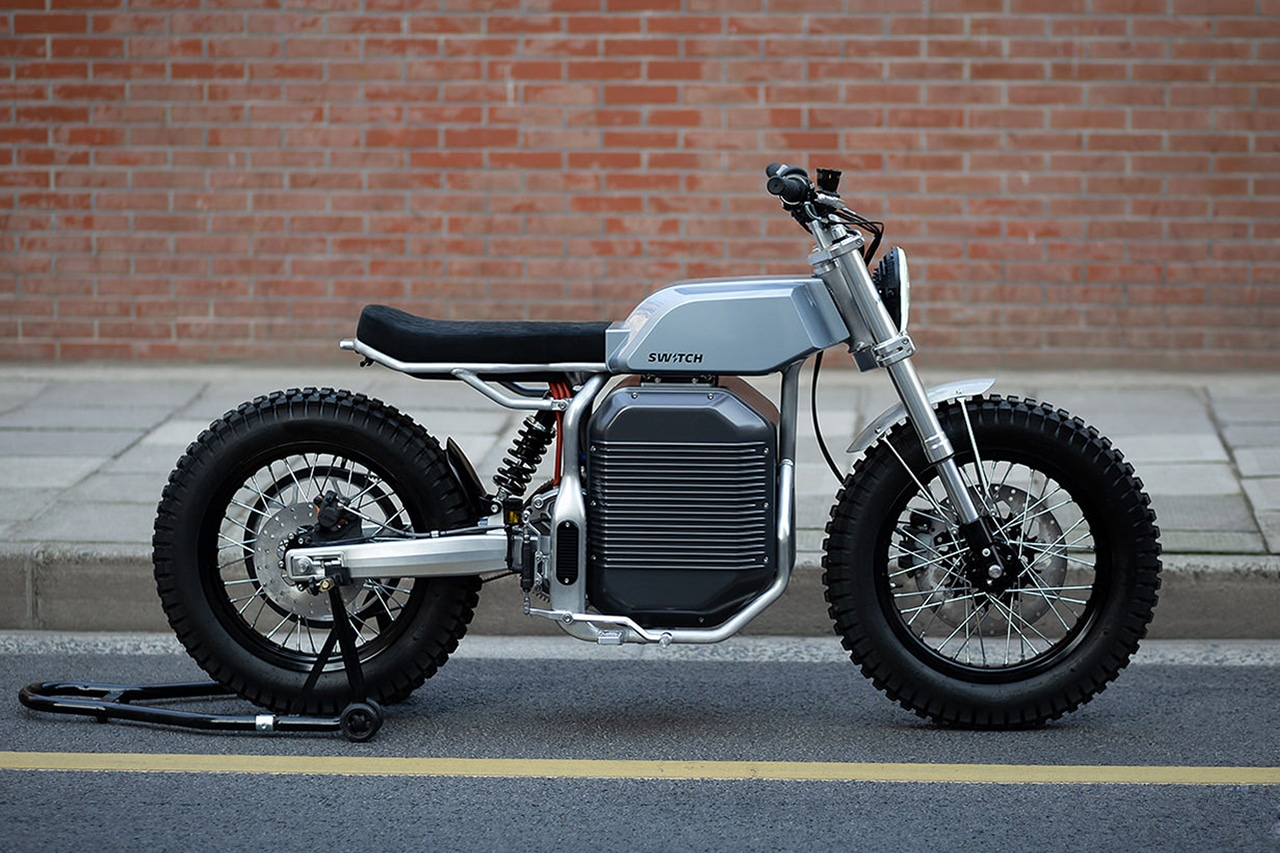Switch eSCRAMBLER, the electric motorcycle with a retro-futuristic look
