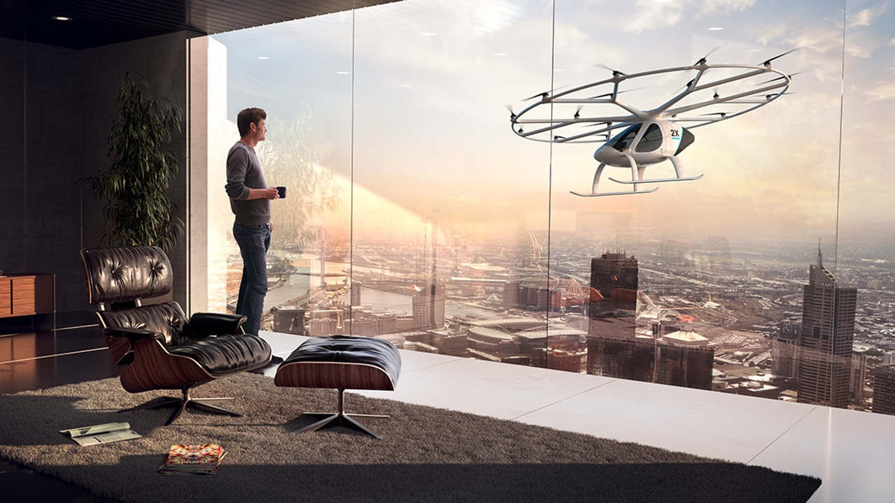 Volocopter and Grab teamed up to study air taxi feasibility in Southeast Asia