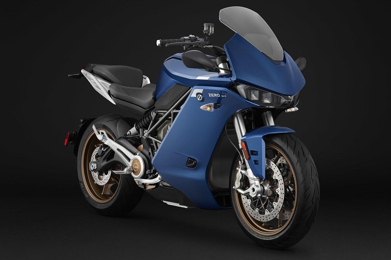 Zero's new SR/S electric motorcycle has 201 miles of range