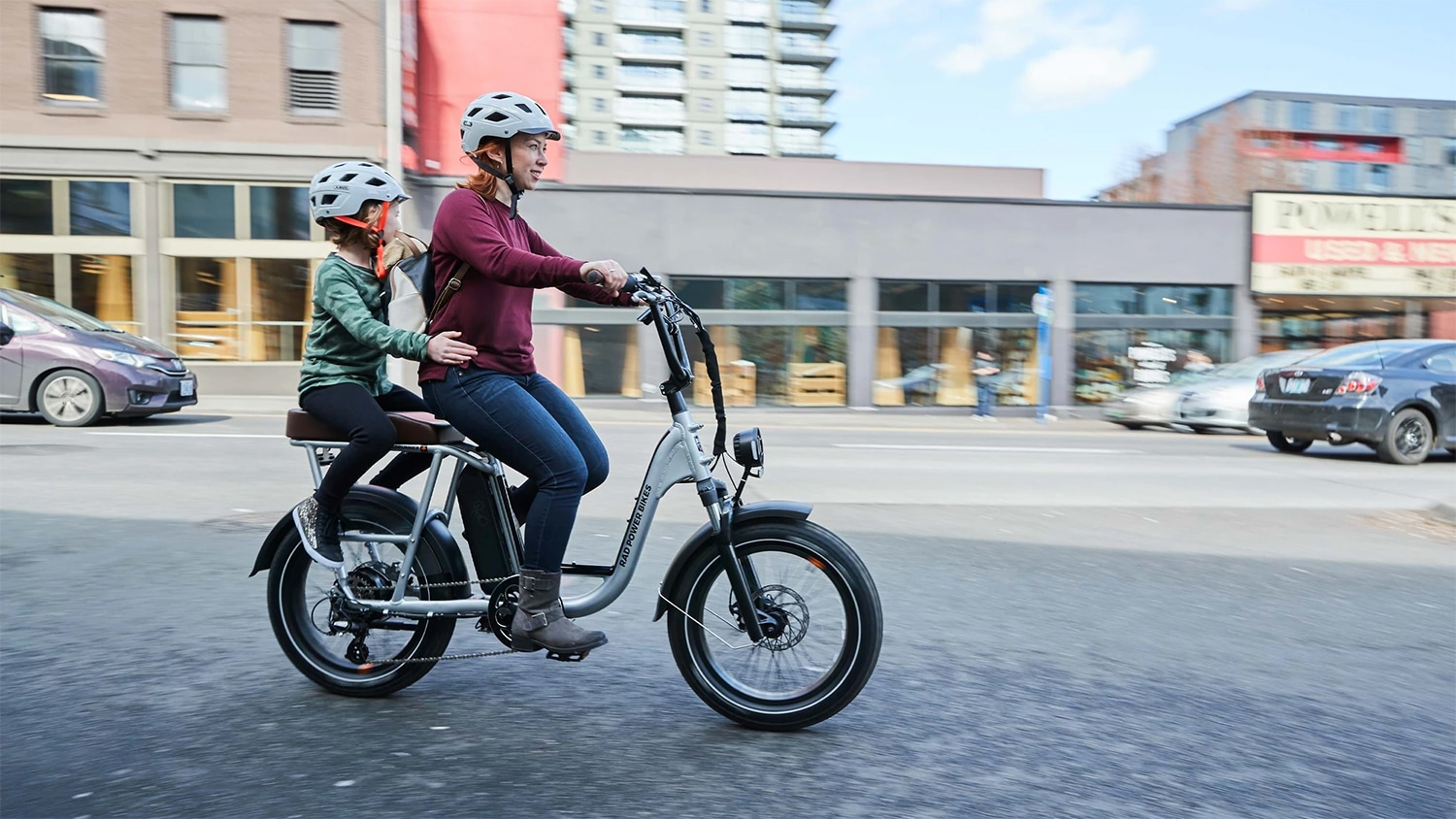 RadRunner Plus, an advanced fat-tire ebike-moped hybrid