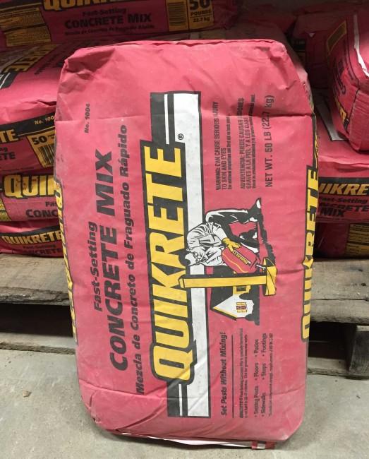 Quick Mix Concrete Bags