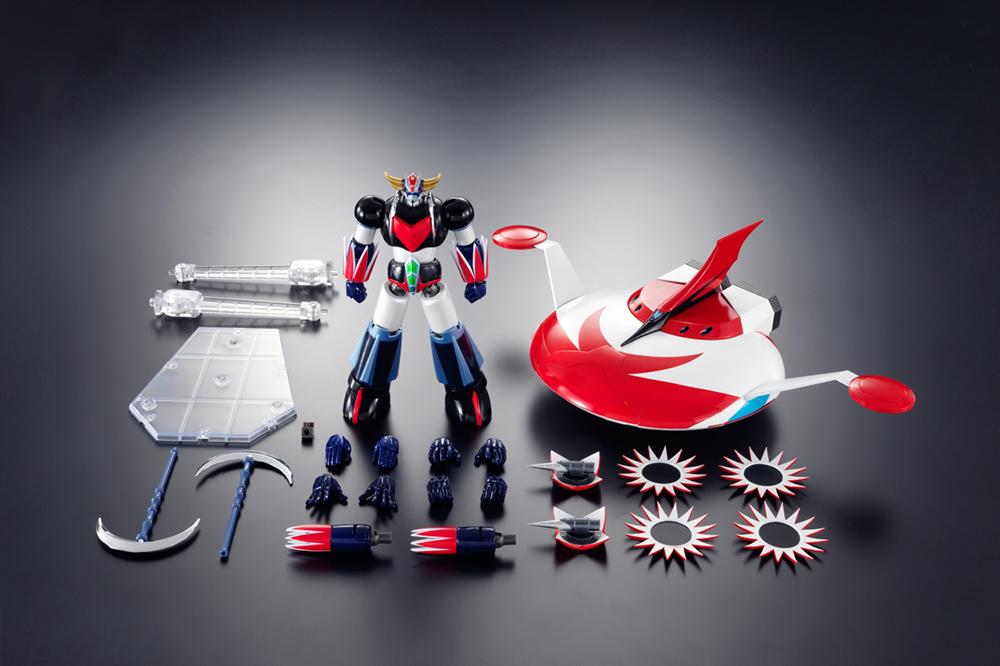 Preorders bandai src ufo robot grendizer and spazer