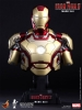 Hot Toys: Iron Man 3 Bust 1/4 Iron Man Mark XLII