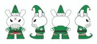 """Kidrobot - Dunny 3"""" Elf 40 pieces Display"""