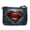 Man Of Steel Shoulder Bag Logo Blue