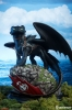 Sideshow How to Train Your Dragon Toothless Statue