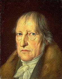 Georg Wilhelm Friedrich Hegel.