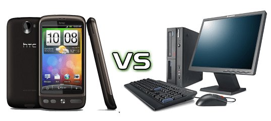 htc vs computers