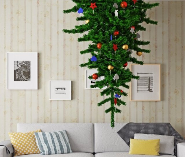 Upside Down Christmas Trees Are Ridiculous Heres Why You Might Want One Anyway Inc Com