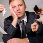 Job-Related Stress, Unhealthy Habits, and Work-Life Imbalance