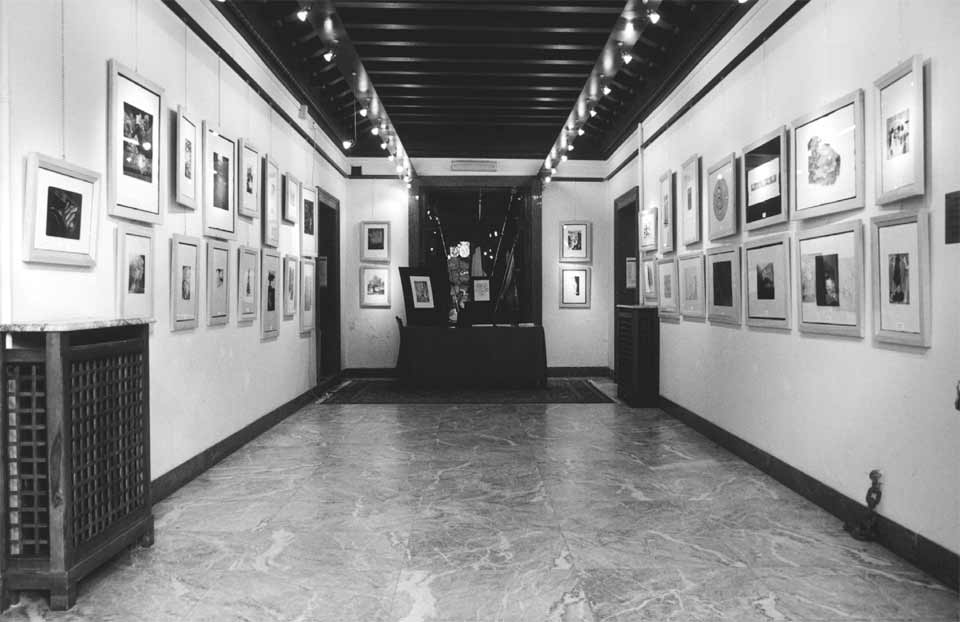 Castello dei Da Peraga: prima sala espositiva