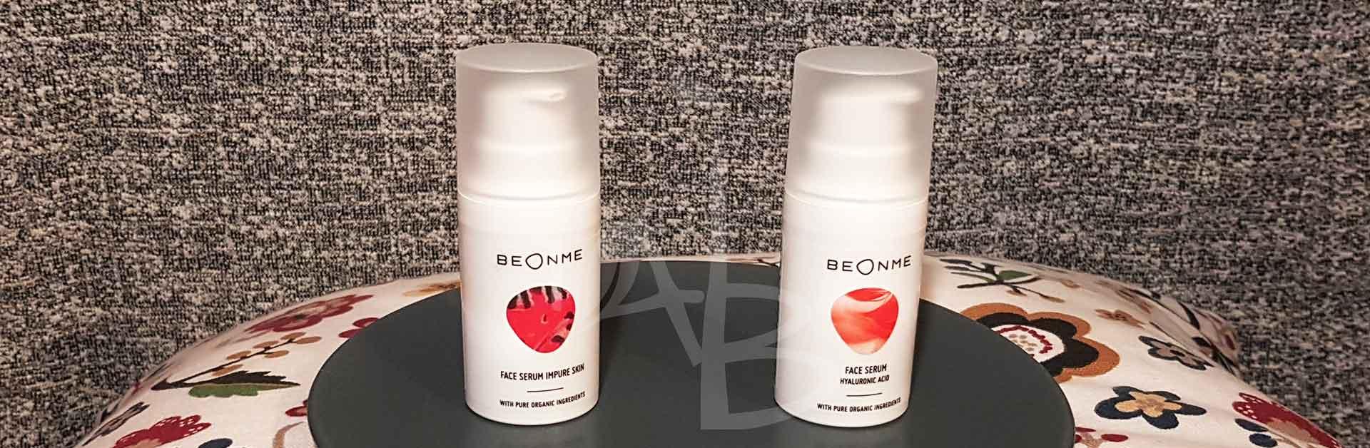 Siero viso purificante e con acido ialuronico di BeOnMe