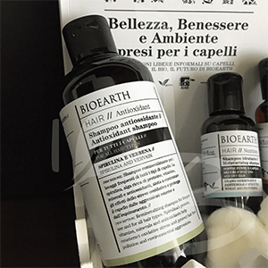 Shampoo antioxidant Bioearth
